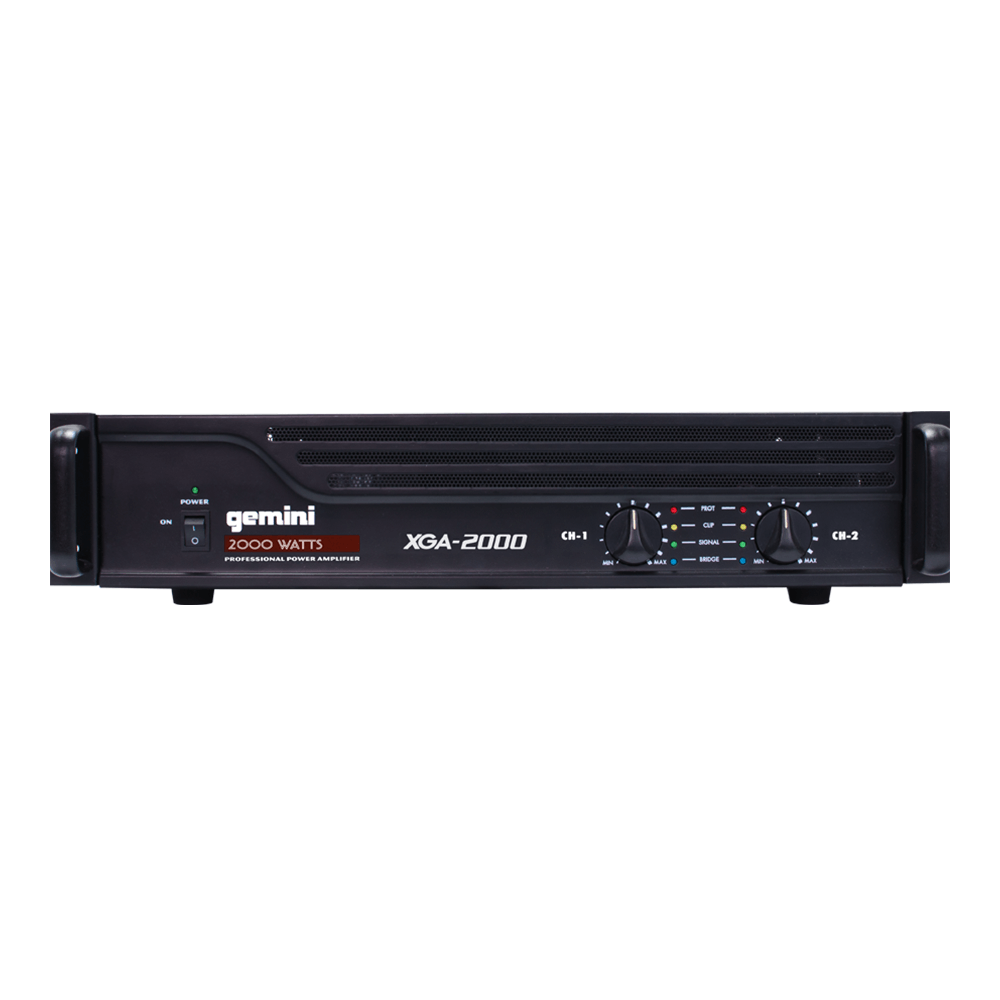 Gemini XGA-2000 2000w Professional Power Amplifier