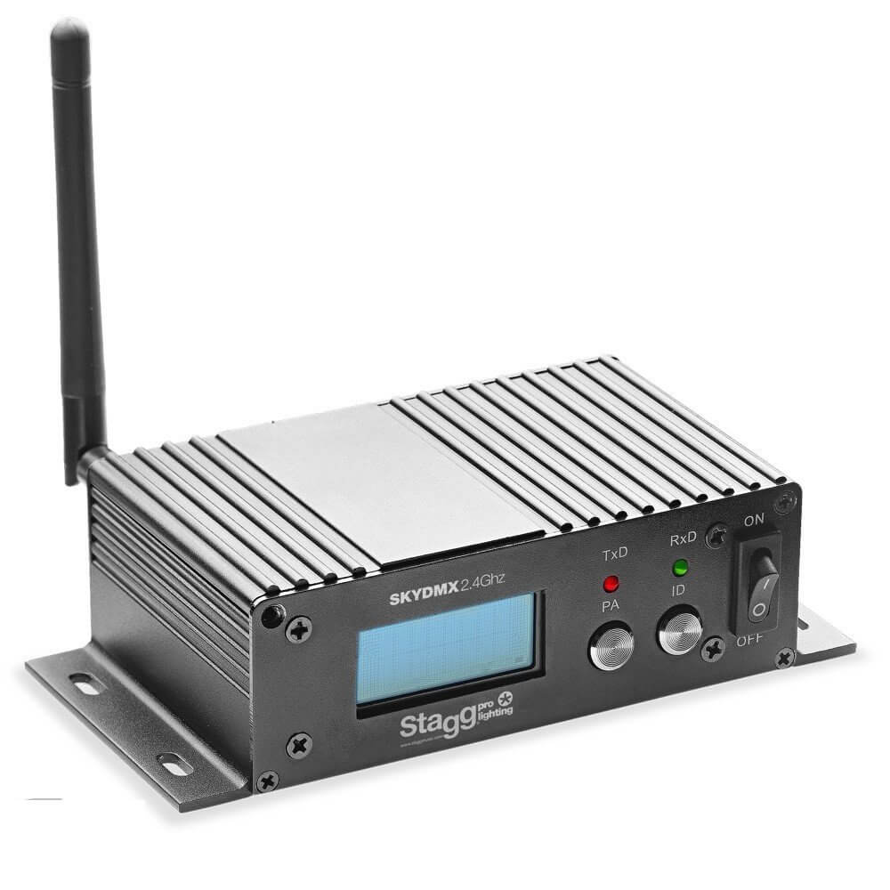 Stagg SLI-SKYDMX2.4GHz Wireless DMX Transceiver
