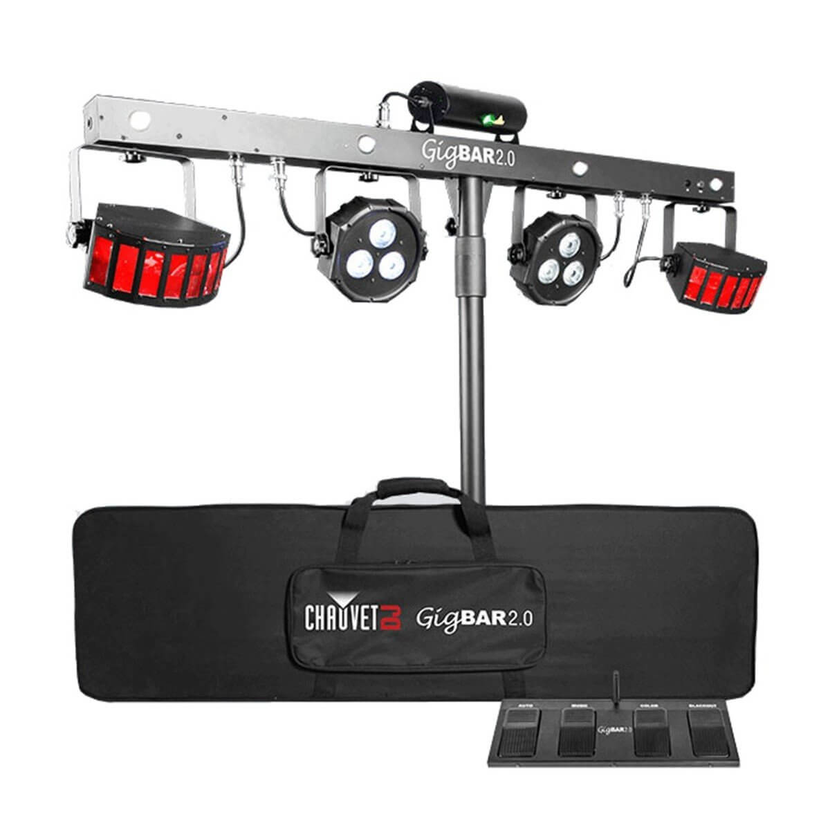 Chauvet GigBAR 2 IRC 4 in 1 DJ Lighting System