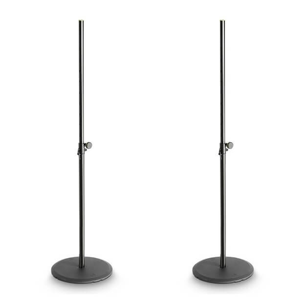 2x Gravity Speaker Stand with Round Base (Bundle)