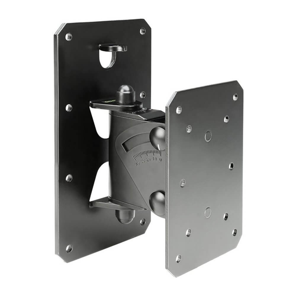 Bedwelming Gravity Tilt and Swivel Wall Mount Speaker Stand up to 30kg Black #EG94