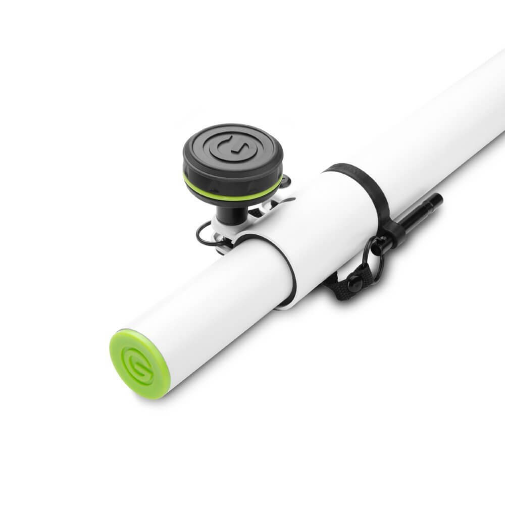 Gravity Adjustable Speaker Pole (White)