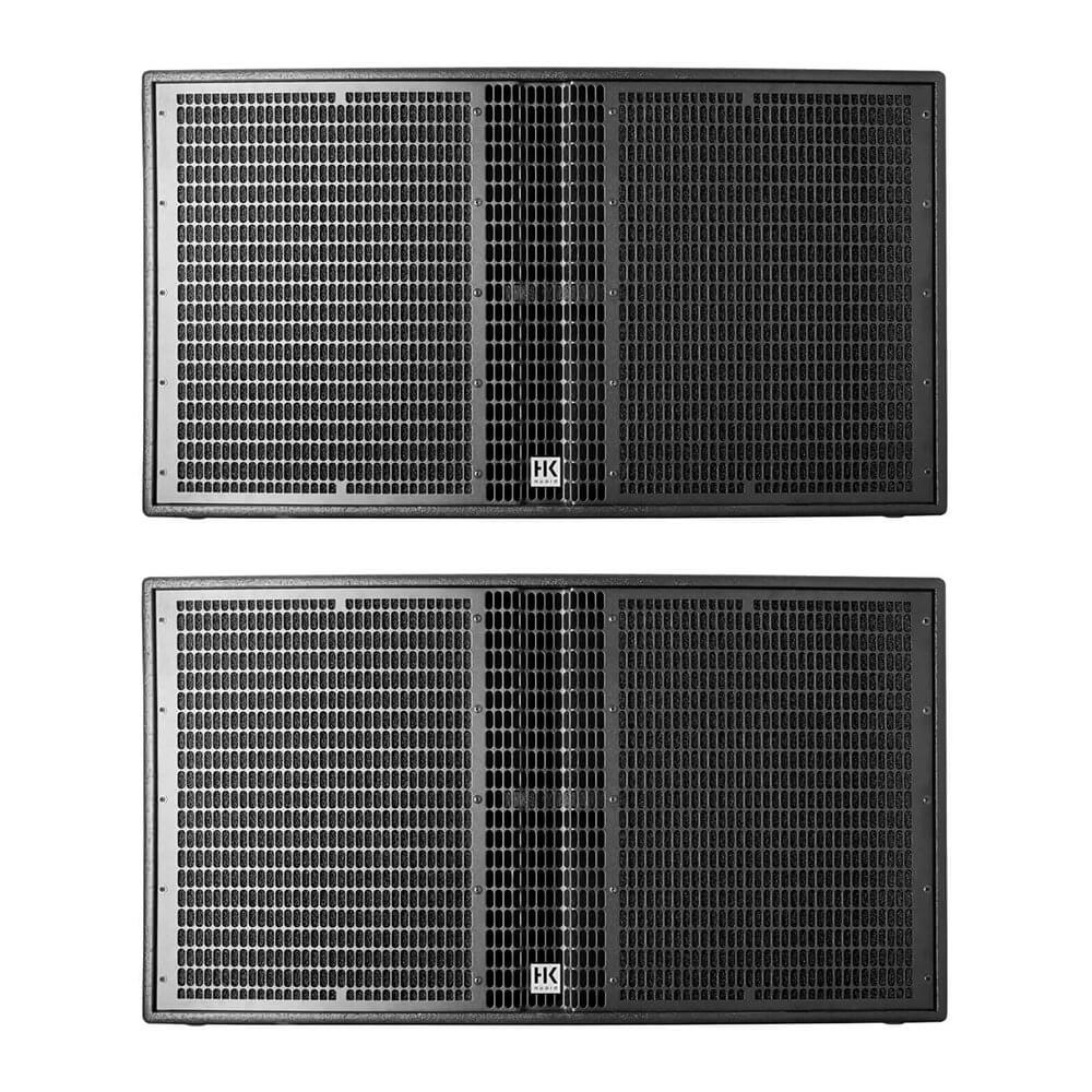"2x HK Audio LS4000A Active 18"" Subwoofer 12400W Linear 5 Speaker"
