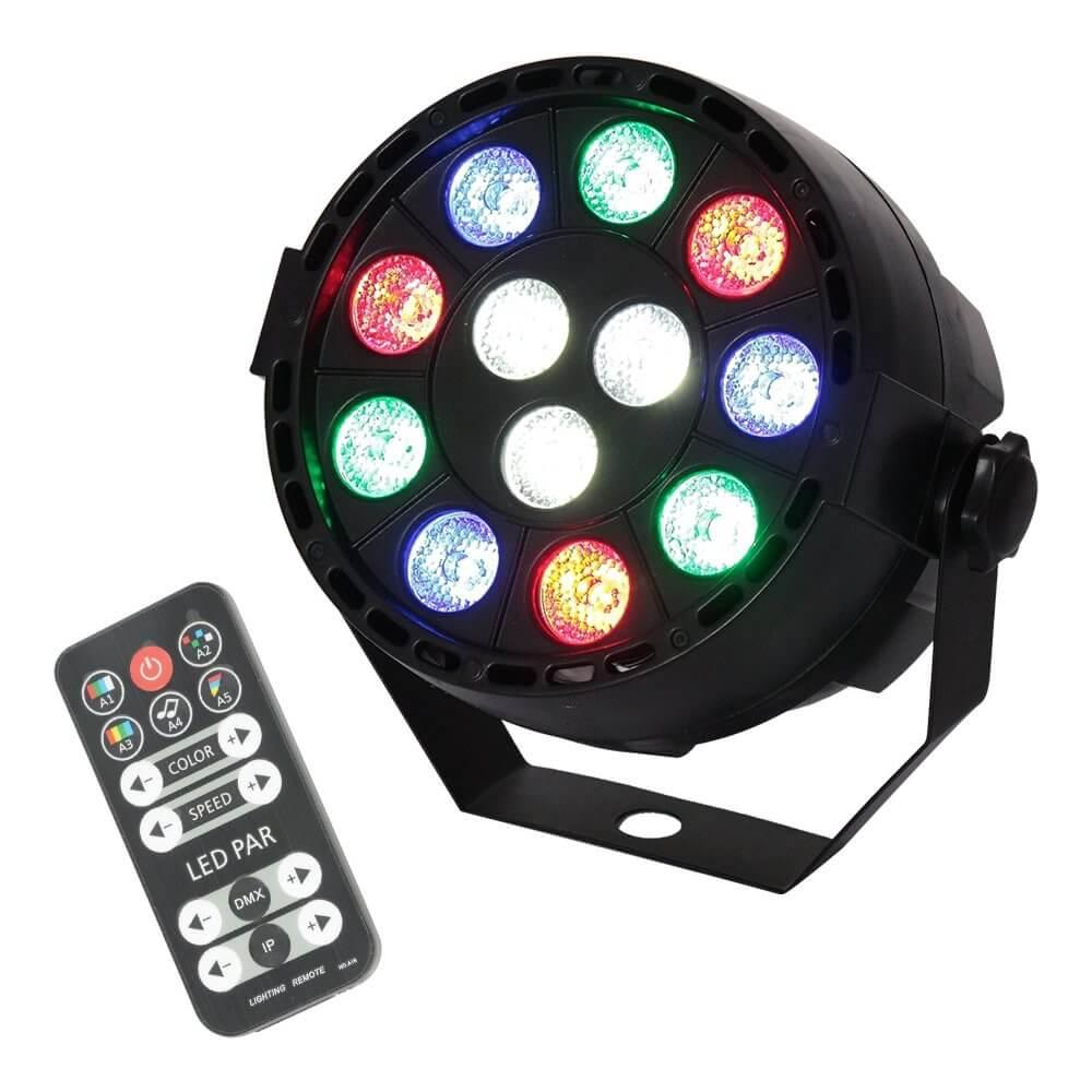 Ibiza Light Mini LED PAR Can RGBW (Battery)
