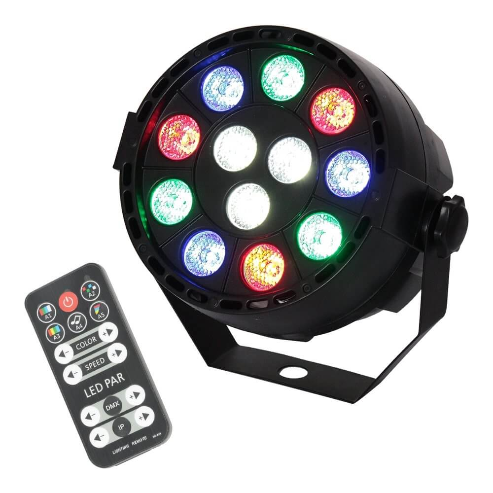 Ibiza Light Mini LED PAR Can RGBW