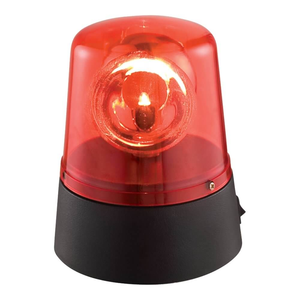 Ibiza Light Mini LED Red Beacon (Battery Powered)