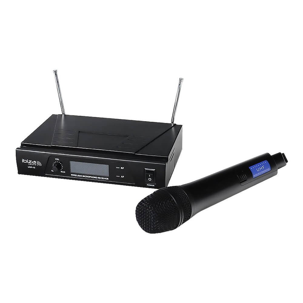 Ibiza Uhf 10 Wireless Handheld Microphone