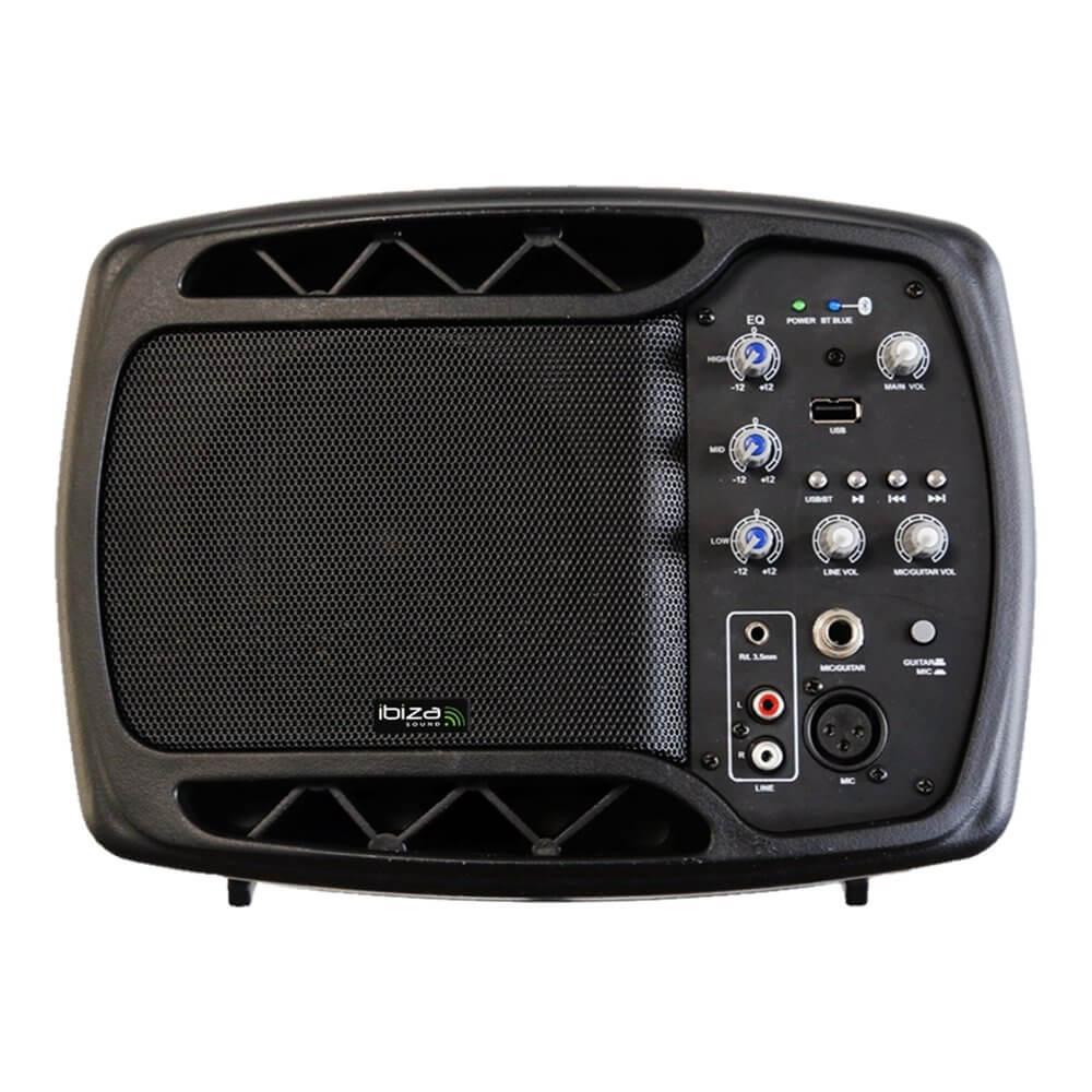 Ibiza Sound 150W Bluetooth Active Monitor Speaker