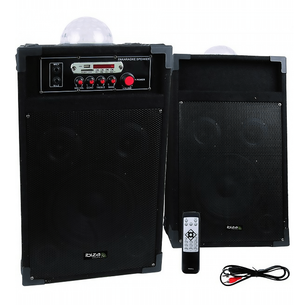 "Ibiza Sound 8"" 600W Bluetooth PA System"
