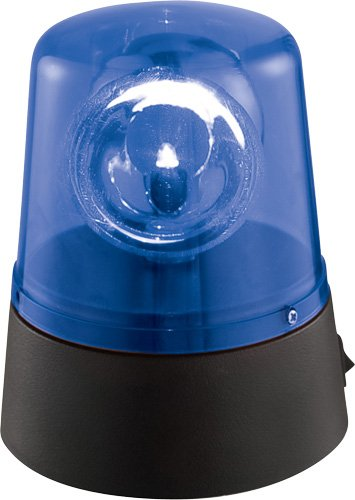 Ibiza LED Mini Battery Blue Beacon