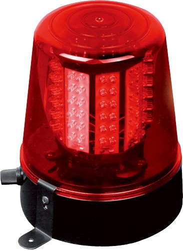 Ibiza LED XL Beacon Red Rotating Police Light