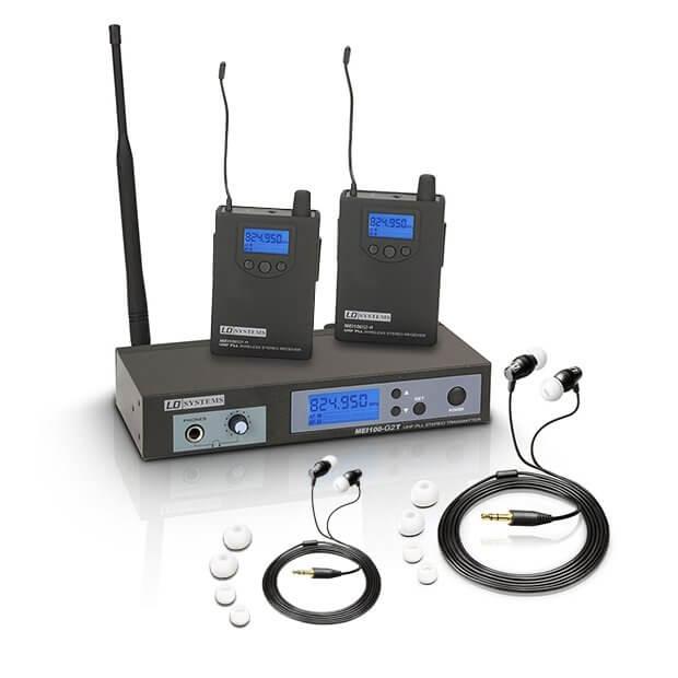 LD Systems MEI100 G2 Wireless In Ear Monitoring Bundle