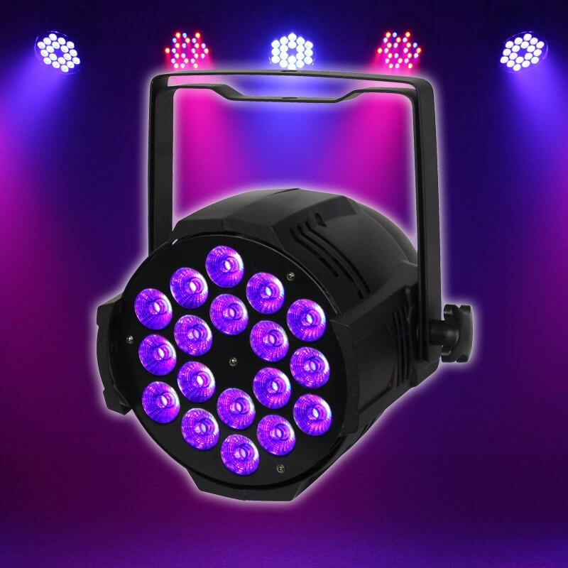 LEDJ Performer HEX MKII 18 x 12w LED Par Can
