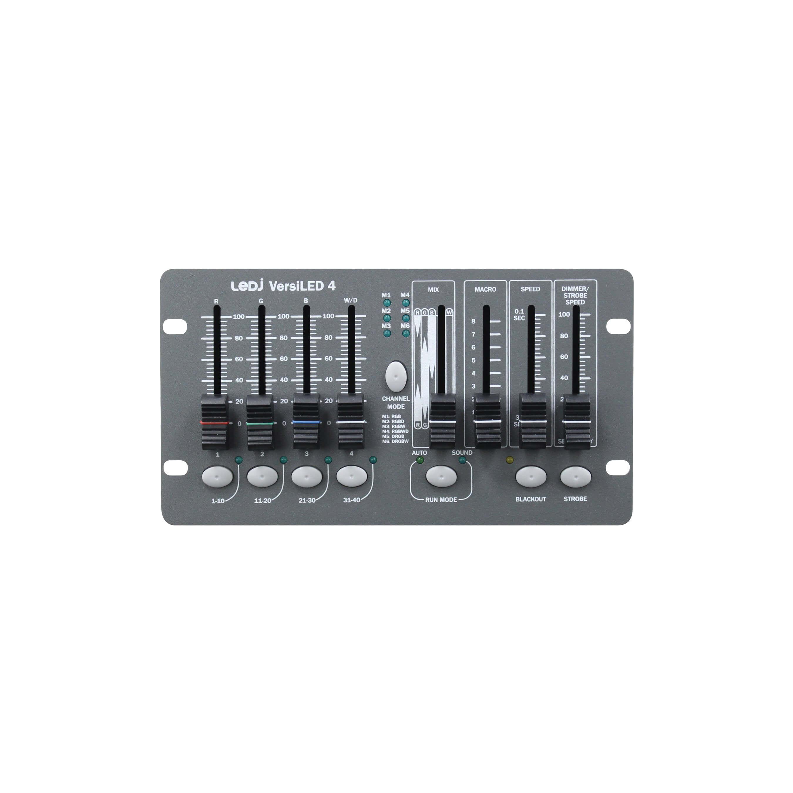 LEDJ VersiLED 4 DMX Controller