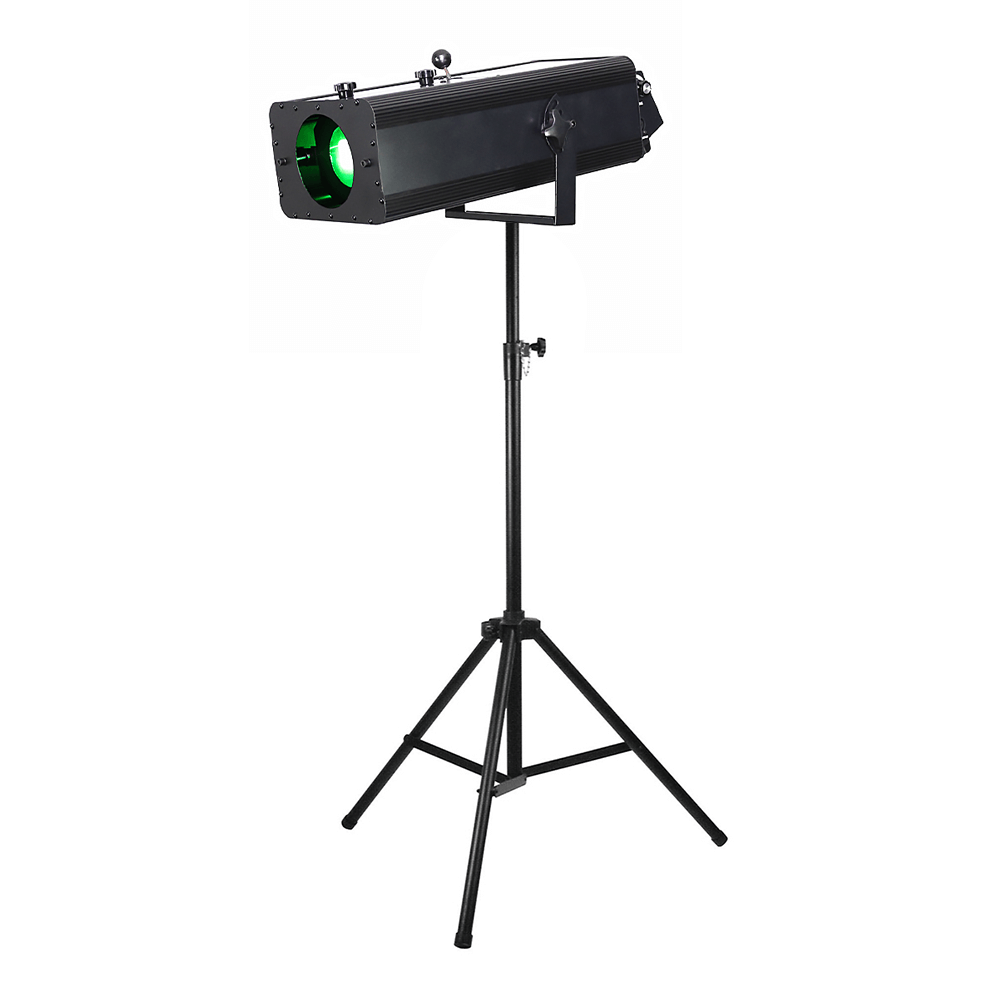 LEDJ FS100 100W LED Followspot inc. Stand