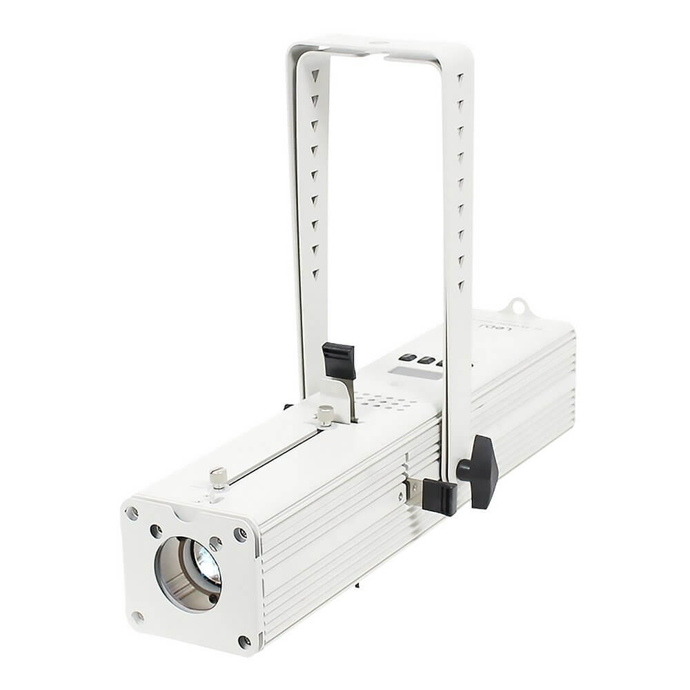 LEDJ PF35 Profile Spot Cool White LED and Gobo Projector (White Housing)