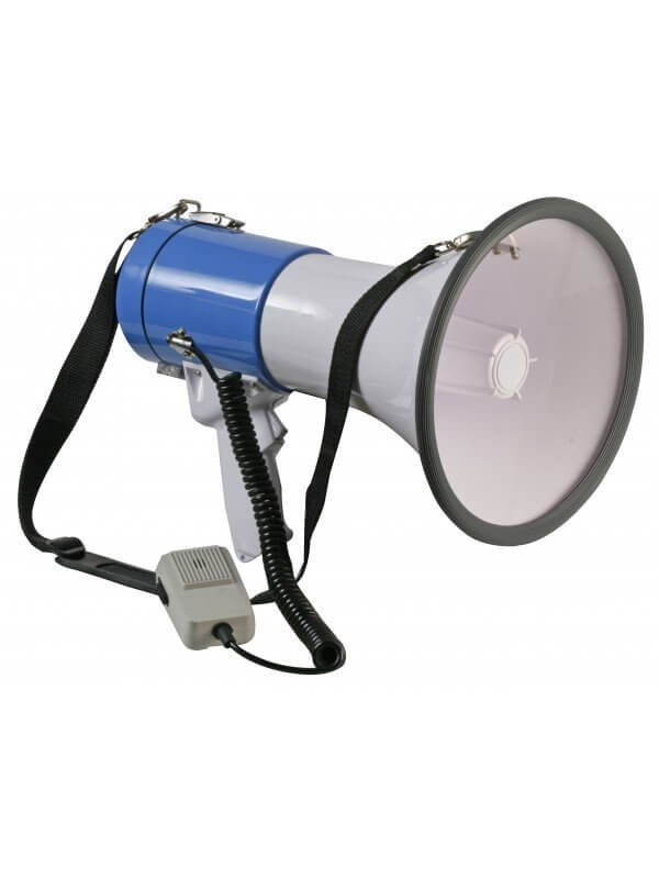 Pulse 25w Megaphone inc Microphone & Strap