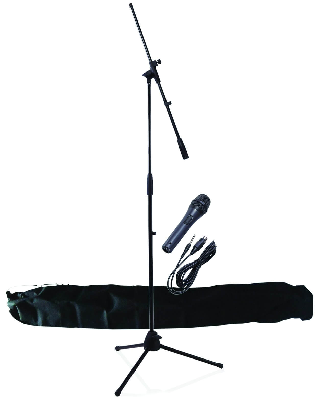 NJS Microphone Stand Kit Inc Mic, Lead & Stand