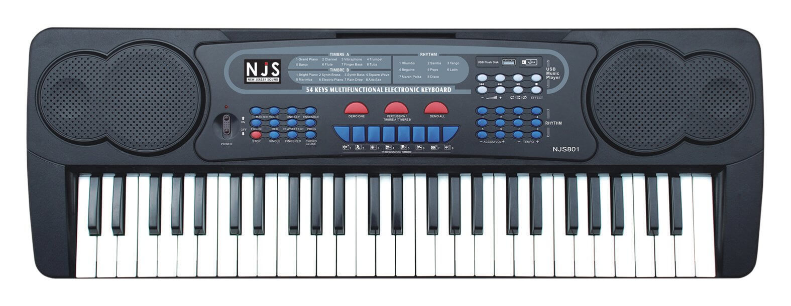 New Jersey Sound 54-Key Digital Keyboard