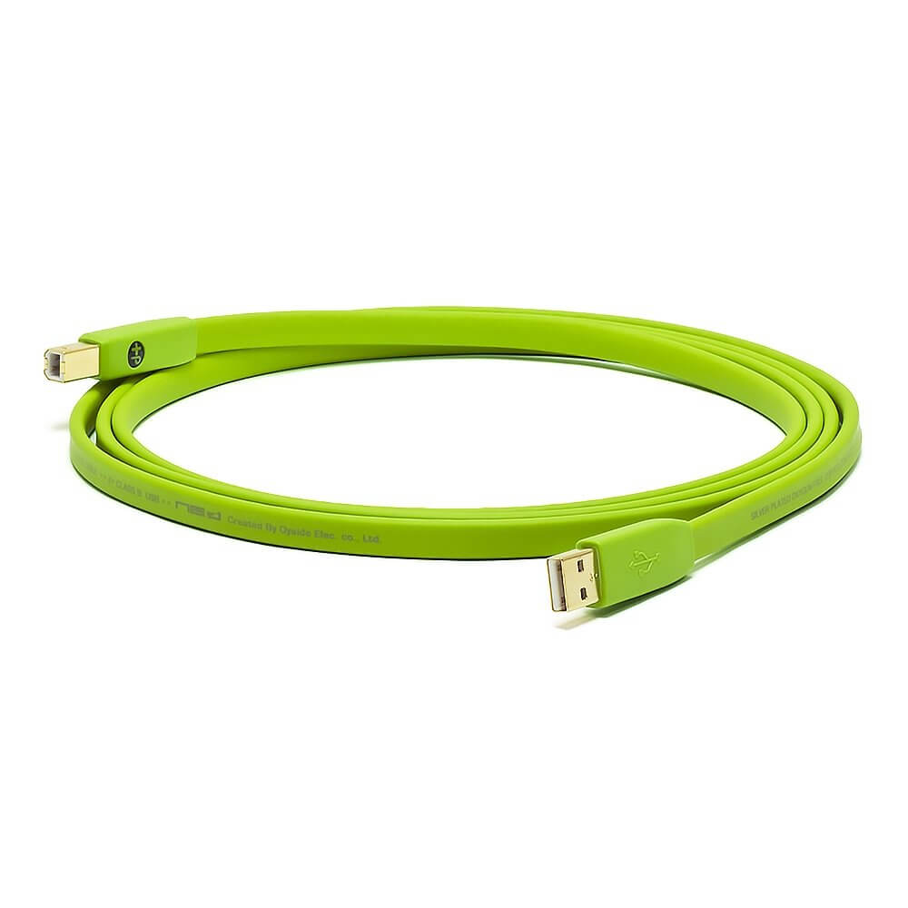 Oyaide NEO d+ High Quality Class B Green USB Cable (2m)