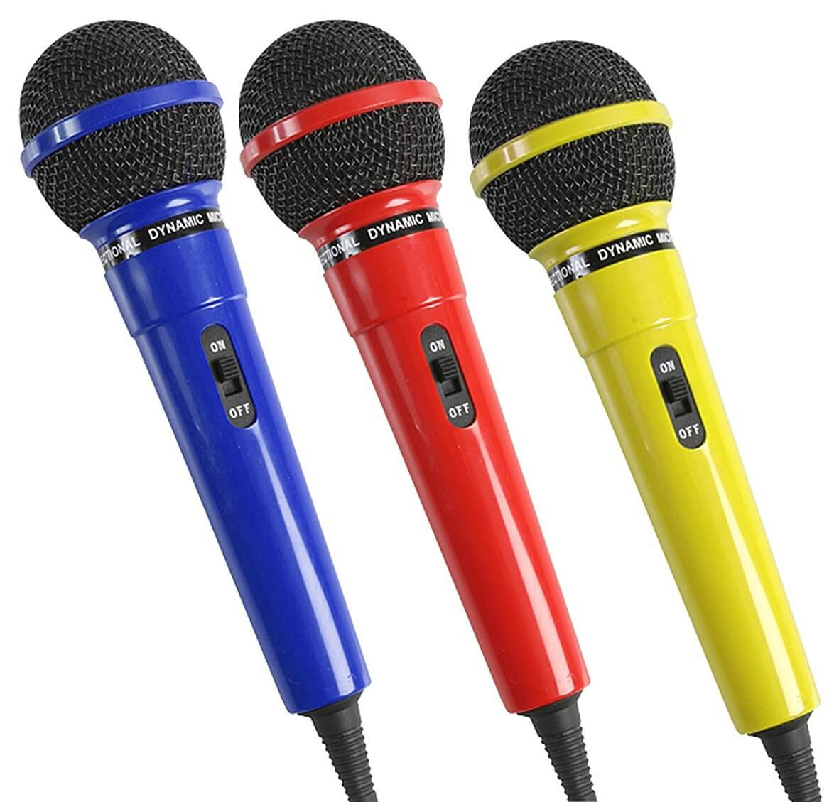 Pulse Dynamic Microphone Plastic Budget