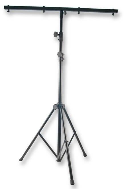 2 x Lighting Stand & 4 Light T-Bar 2.5M