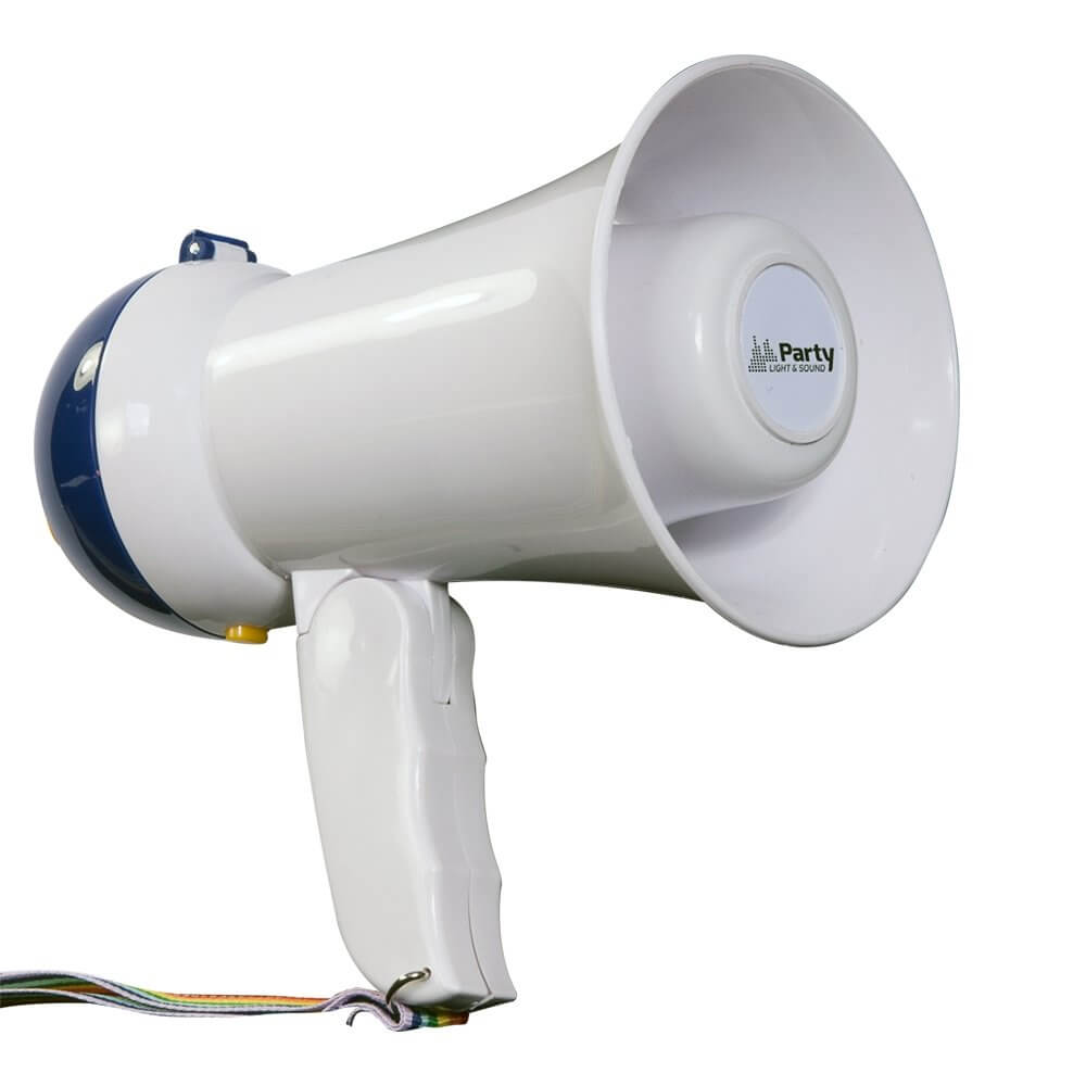 Party Light & Sound 10W Megacup Compact Megaphone