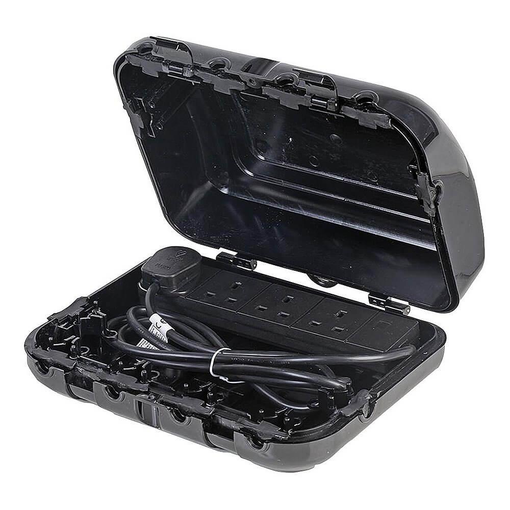 Pro-Elec Waterproof 4 Way Outdoor Enclosure Box (2m)