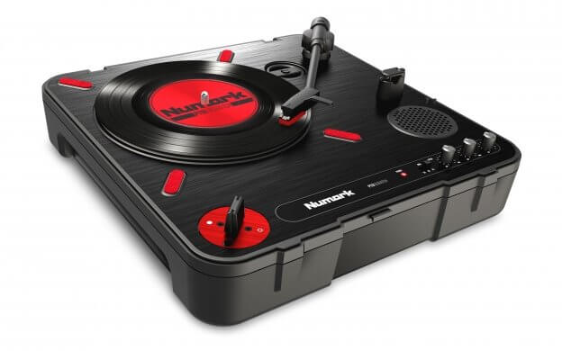 Numark PT01 Scratch Portable Turntable