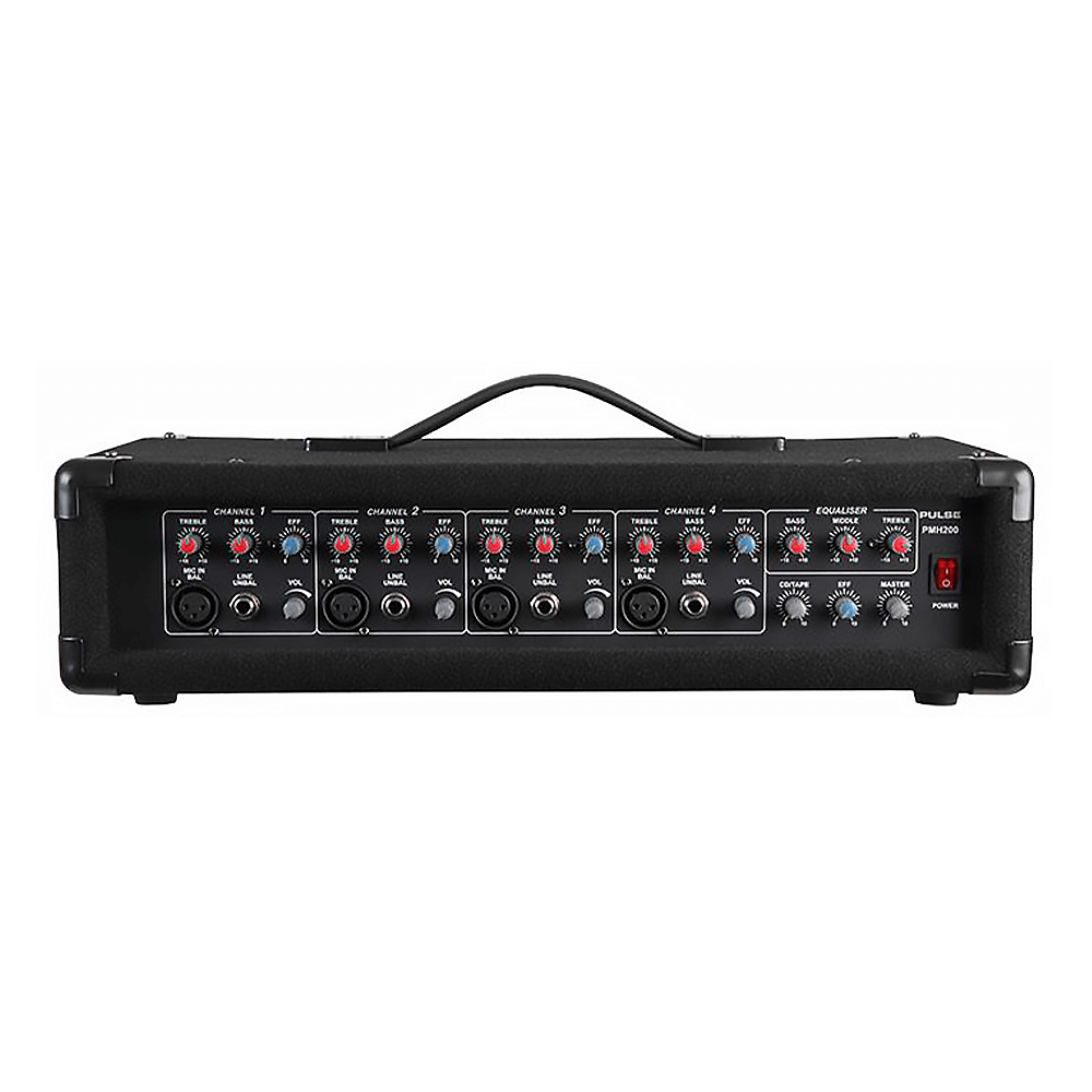 Pulse PMH200 2x 100w 4 Channel Mixer Amplifier