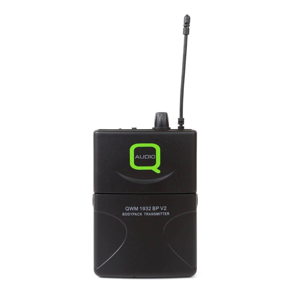 Q Audio QWM1932 Beltpack Replacement Transmitter (863 0MHz)