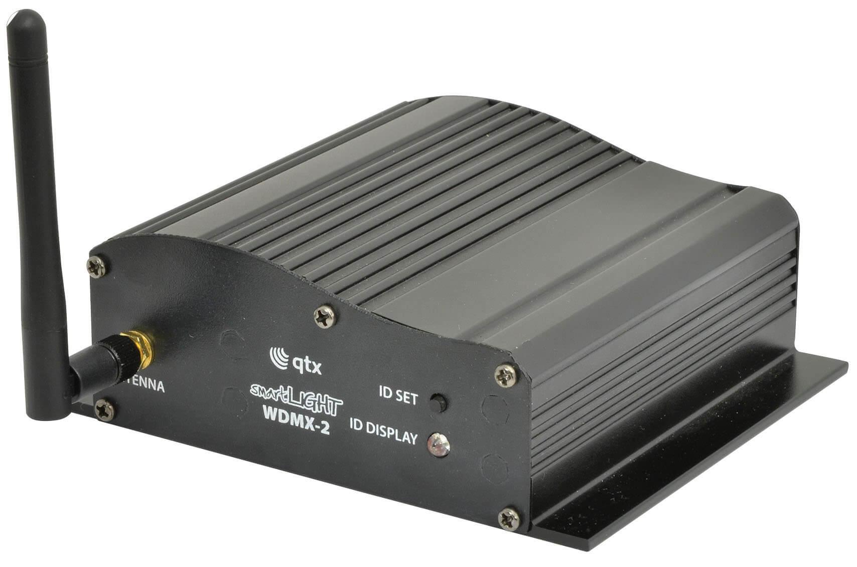 QTX Wireless DMX WDMX-2 Transceiver Lighting