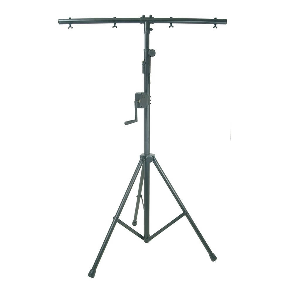 QTX Heavy Duty Lighting Stand with Winch & TBar