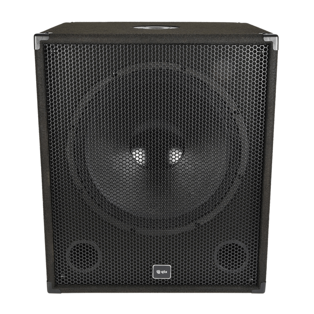 "QTX QT15S Subwoofer Speaker Bass Bin Box 15"" 300w 170.750"