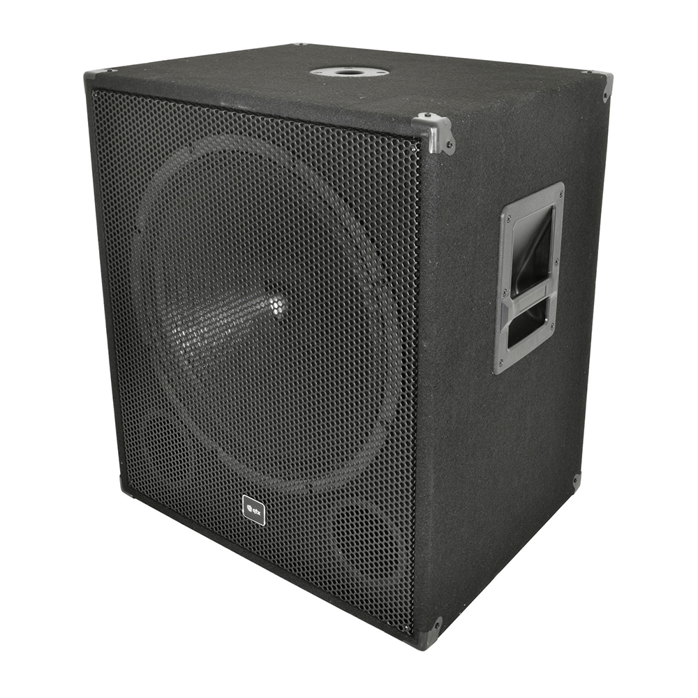 "QTX Sound QT18S 18"" 500W Passive Sub Woofer Bass Bin Speaker"
