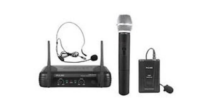 PULSE PWM200VHF-BP VHF Dual Handheld / Beltpack Wireless Microphone 173.8+175.0MHz