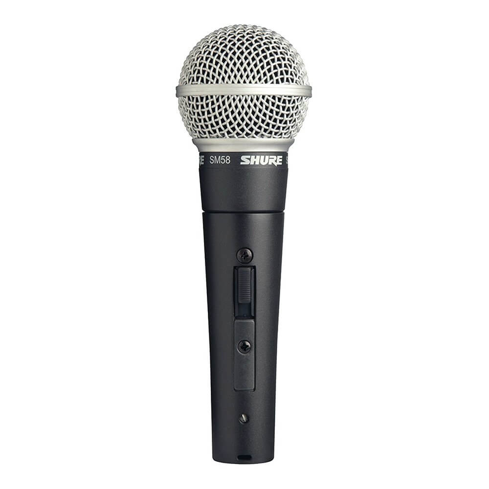 Shure SM58s Switched Vocal Cardoid Mic