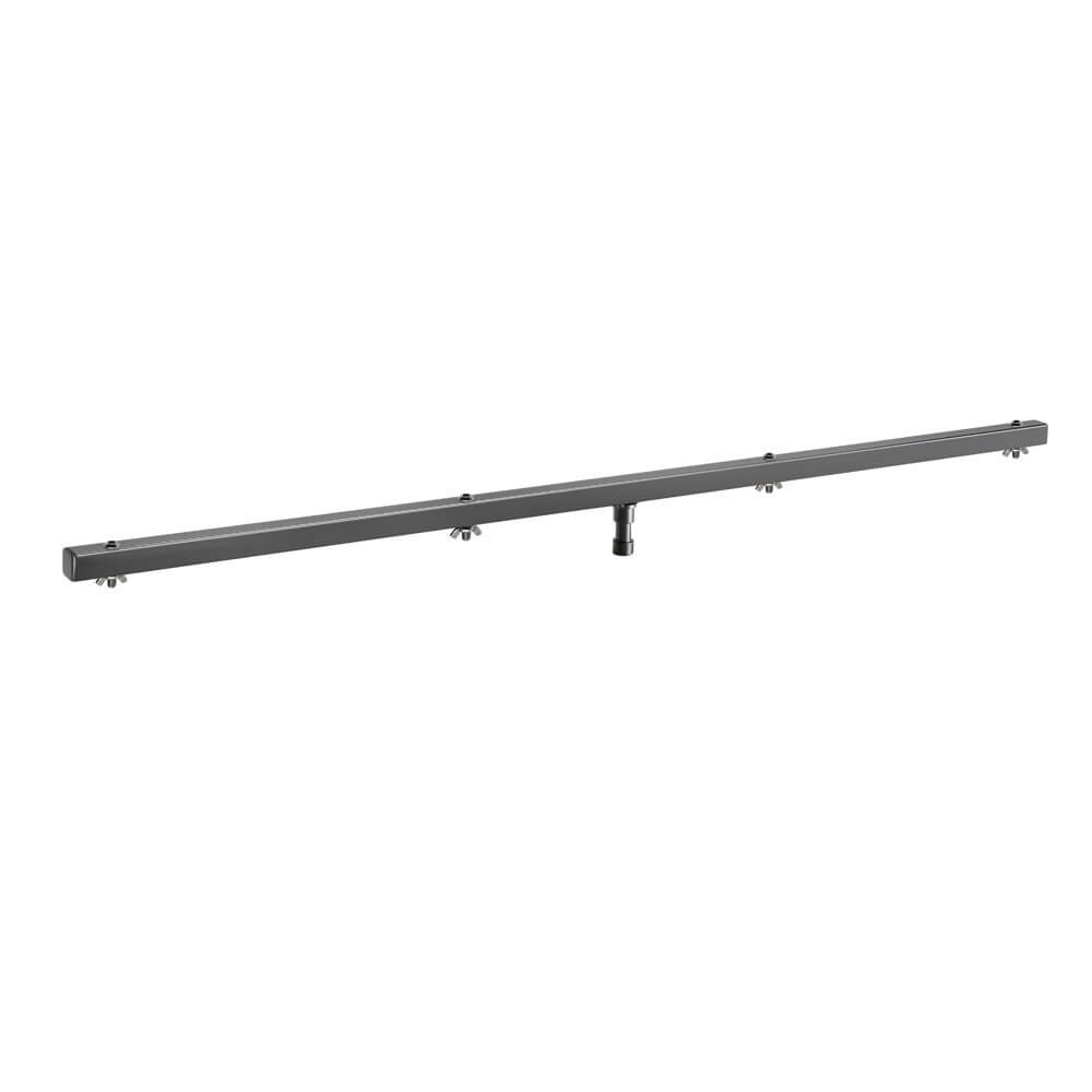 Adam Hall Stands SLS 6 CB - Lighting Stand T-Bar with 17mm TV Spigot