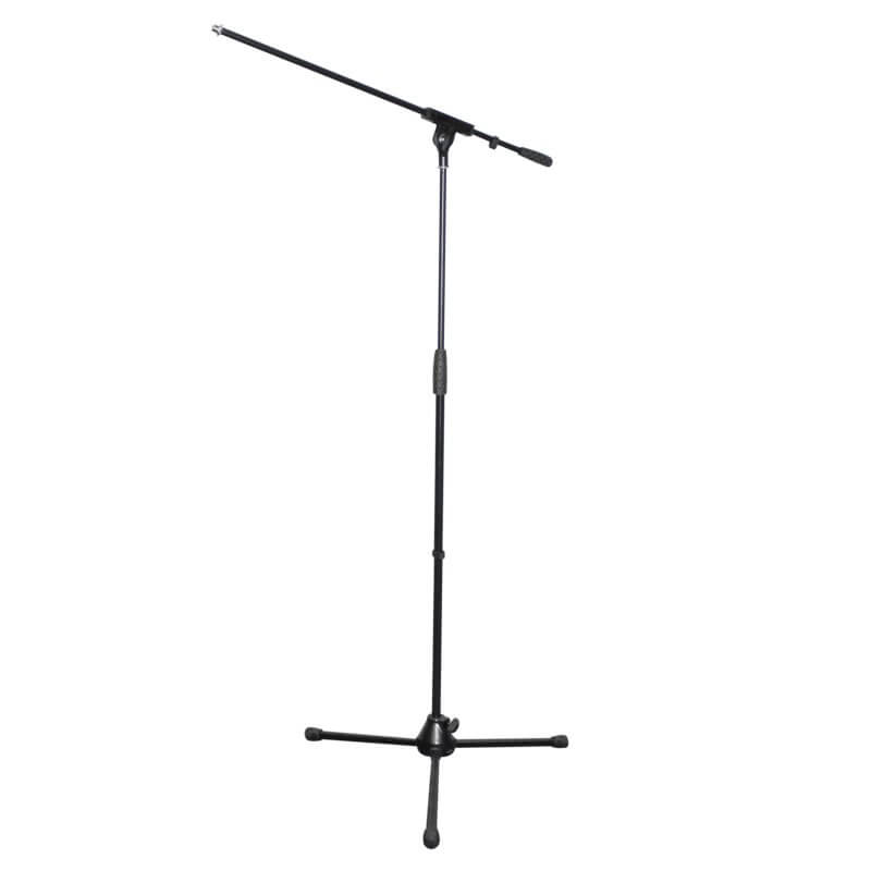 Rhino STAN10 Heavy Duty Durable Microphone Stand Black Boom