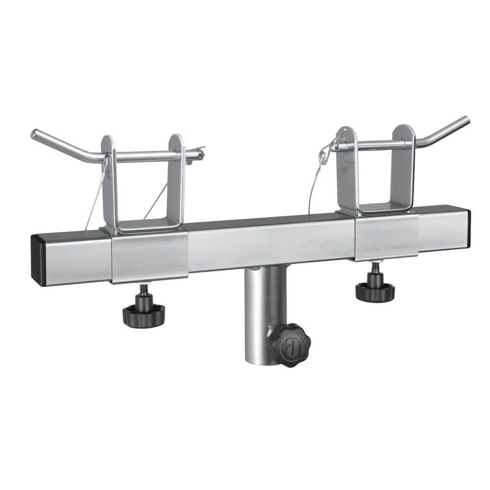 Adam Hall Truss Lighting Stand Holder 35mm Stand Top - 200mm - 400mm Width Adjustable