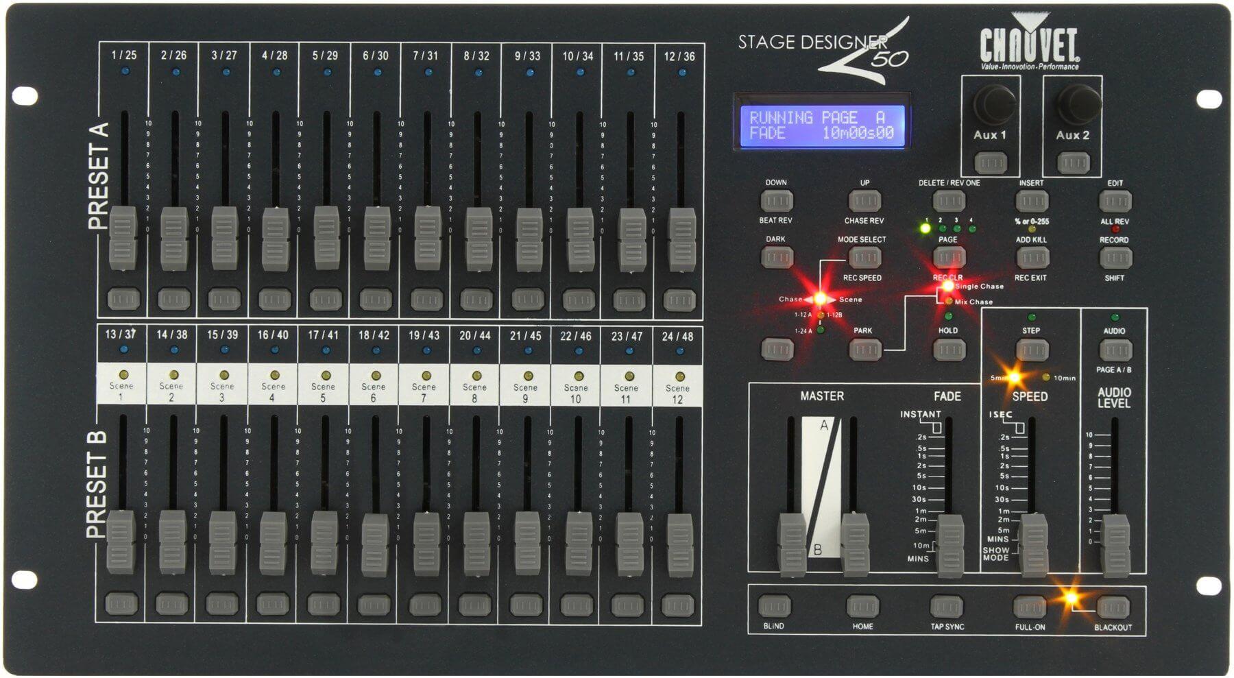 Chauvet Stage Designer 50 DMX Control Desk