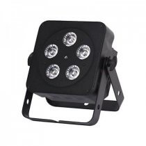 LEDJ Slimline 5Q5 Uplighter Par Can 5 x 5w LED DMX Metal Body