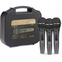 Stagg SDMP15-3 - Set of 3 dynamic vocal microphones