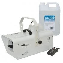 QTX SW2 Snow Machine inc. 5L Fluid and Remote