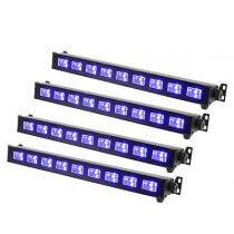 4x QTX Ultraviolet LED Bar