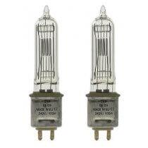 2x GE GKV 240V 600W G9.5 HX600 88447 LAMP