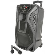 QTX BUSKER PA WITH VHF MICS, MEDIA PLAYER & BLUETOOTH® QK12PA