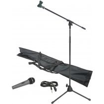 Chord Microphone Stand Kit Inc Stand, Lead & Microphone