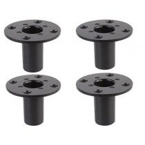 4x Pulse Internal Speaker Stand Top Hat (Metal 35mm)