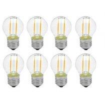 8x 2W Warm White Festoon LED Lamp